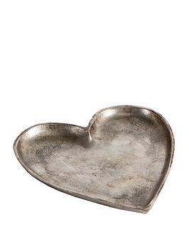 Product photograph showing Gallery Carrigan Heart Dish