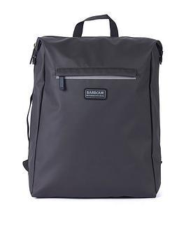 barbour-international-kirby-backpack-black
