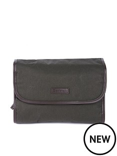 barbour-waxed-hanging-washbag-olive