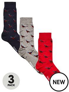 barbour-phesant-sock-3-pack-gift-box