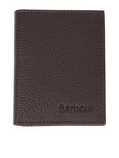 barbour-small-leather-card-holder-brown