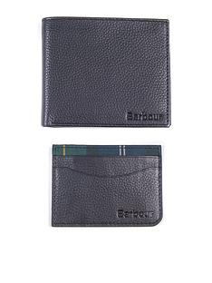 barbour-wallet-and-card-holder-gift-set-black