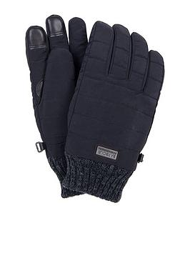 barbour-international-peak-baffle-gloves-black