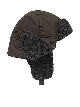 barbour-trapper-hat-olive