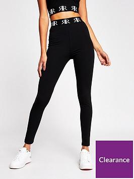 river-island-logo-waistband-high-waist-legging-black