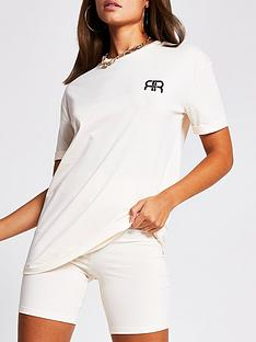 river-island-turnback-sleeve-branded-t-shirt-neutral