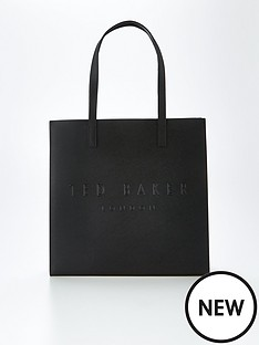 ted-baker-crosshatch-large-icon-bag-black