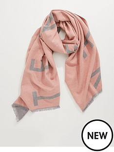 ted-baker-ted-monogram-woven-scarf-pink