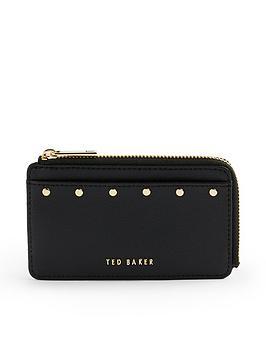 ted-baker-studded-zipped-credit-card-holder-black