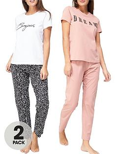 v-by-very-bonjour-amp-dream-pyjama-set-2-pack-printnbsp