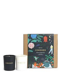 cowshed-christmas-candle-duo