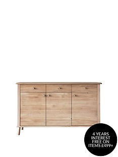 hudson-living-wycombe-solid-oaknbspsideboard