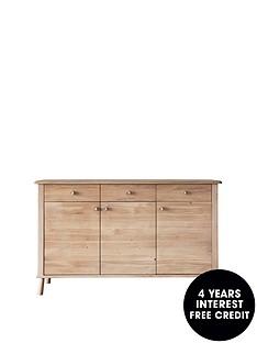 hudson-living-wycombe-solid-oaknbspsideboard