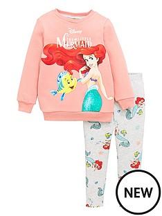 disney-princess-girls-disney-ariel-2-piece-sweatshirt-and-leggings-set-pink