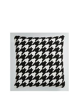 Product photograph showing Houndstooth Cushion