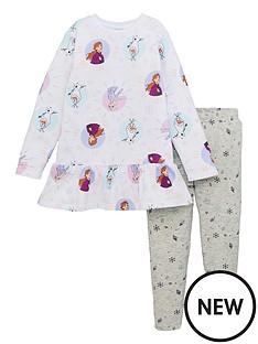 disney-frozen-girlsnbsp2-piece-frill-dress-and-legging-set-white
