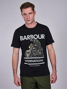barbour-international-heritage-t-shirt-black