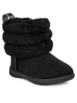 ugg-fluff-mini-quilted-boots-black