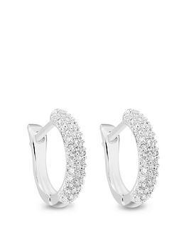 jon-richard-silver-plated-mini-huggie-hoop-earrings