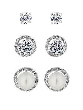 jon-richard-silver-pearl-and-crystal-stud-earrings-pack-of-3