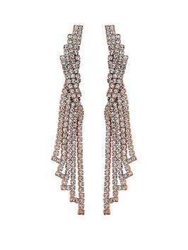 mood-rose-gold-plated-crystal-chandelier-drop-earrings