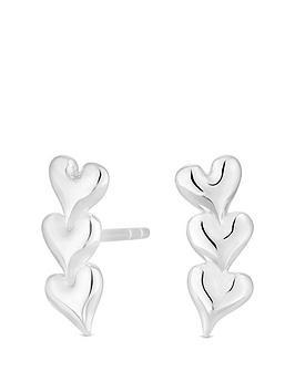 simply-silver-sterling-silver-triple-heart-ear-climber-earrings