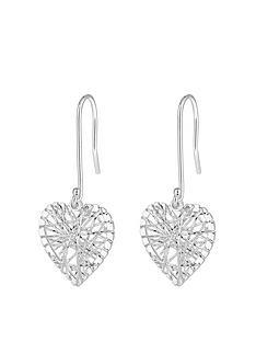 simply-silver-sterling-silver-diamond-cut-cage-heart-drop-earrings
