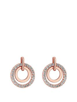 simply-silver-14ct-rose-gold-plated-sterling-silver-cubic-zirconia-open-drop-earrings