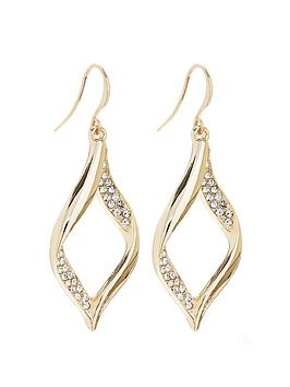 mood-gold-plated-crystal-pave-twist-drop-earrings