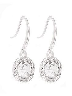 mood-silver-plated-crystal-halo-fish-hook-drop-earrings