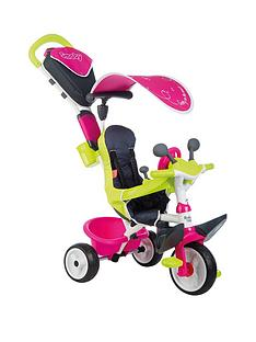 smoby-baby-driver-comfort-tricycle-pink