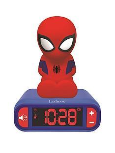 lexibook-spiderman-night-light-alarm-clock