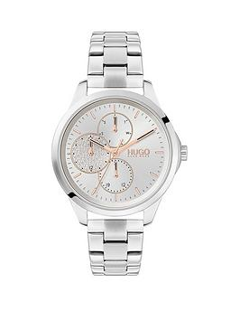 hugo-hugo-fearless-silver-multi-dial-stainless-steel-bracelet-watch
