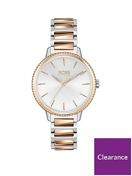 boss-signature-silver-dial-two-tone-bracelet-watch