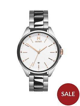 mvmt-coronada-white-dial-stainless-steel-bracelet-watch-silver