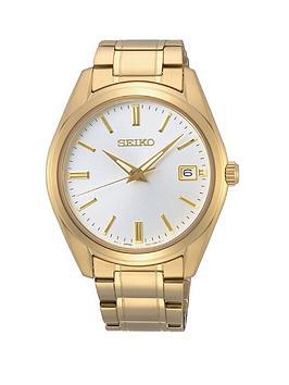 seiko-seiko-white-date-dial-gold-stainless-steel-bracelet-mens-watch