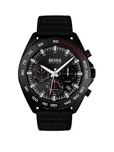boss-black-chronographnbspdial-black-leather-strap-mens-watch