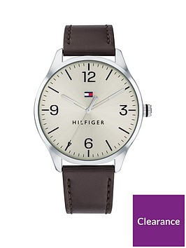 tommy-hilfiger-tommy-hilfiger-cream-dial-brown-leather-strap-watch