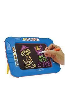 lexibook-paw-patrol-neon-electronic-drawing-board-with-templates