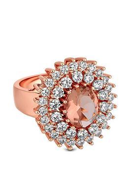 jon-richard-rose-gold-plated-pink-cubic-zirconia-cocktail-ring