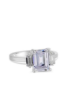 simply-silver-cubic-zirconia-tri-stone-emerald-cut-ring