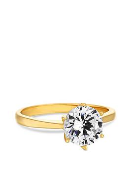 simply-silver-14ct-gold-plated-sterling-silver-round-solitaire-sized-ring
