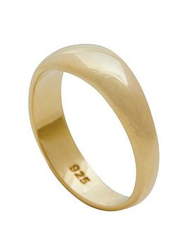 simply-silver-14ct-gold-plated-sterling-silver-polished-ring