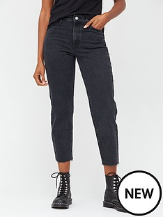 v-by-very-high-waist-straight-leg-jeans--nbspblack-wash