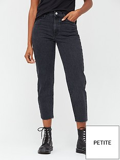 v-by-very-30-high-waist-straight-leg-jeans--nbspblack-wash