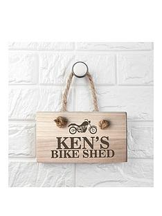 treat-republic-personalised-wooden-bike-shed-sign