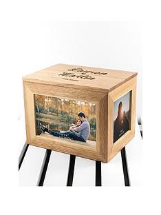 treat-republic-personalised-name-and-heart-midi-oak-photo-cube-keepsake-box