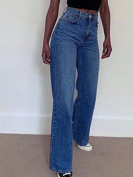 topshop-slim-wide-leg-jeansnbsp--blue