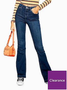 topshop-flare-jeans-indigo