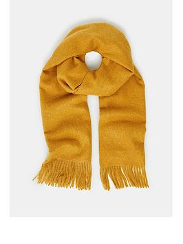 accessorize-holly-antibacterial-blanket-yellow